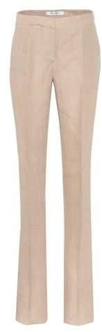 Max Mara Atlanta linen trousers