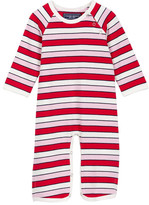 Toobydoo Positano Pink Striped Jumpsuit (Baby Girls)