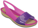 Crocs ColorBlock Womens Flat