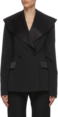J.W.Anderson Oversize shawl lapel double breast tuxedo blazer