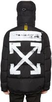 Off-White Off White Brushed Arrows Down Quilted Jacket