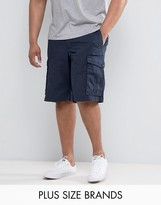 Tommy Hilfiger PLUS John Cargo Shorts in Navy