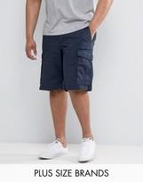 Tommy Hilfiger Plus John Cargo Shorts In Navy