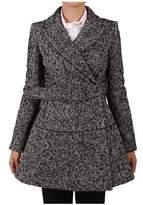 Patrizia Pepe Women's Grey Wool Coat.