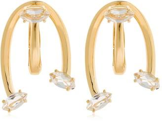 BEA BONGIASCA Caprifoglio - Love Ties Gold Earrings