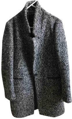 Maison Scotch Grey Wool Coats