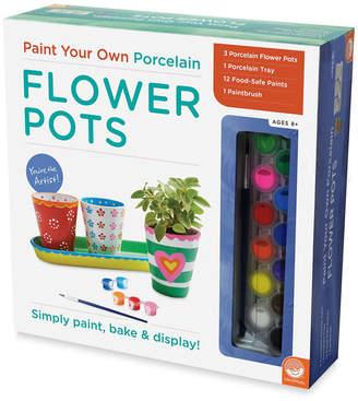 Your Own Paint Porcelain Flower Pots