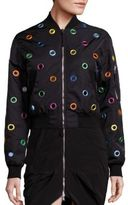 Moschino Detailed Bomber Jacket