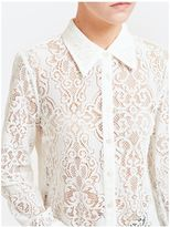 McQ by Alexander McQueen Lace Shirt