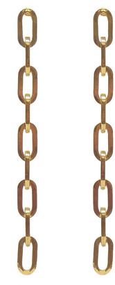 Ben-Amun Chain Dangle Earrings