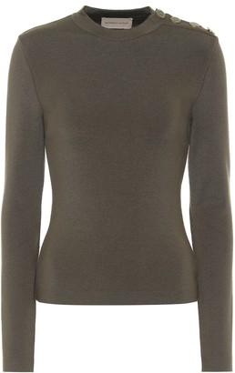 Alexandre Vauthier Merino-wool sweater
