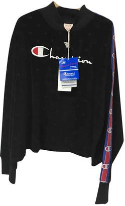 Champion Black Cotton Knitwear