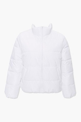 Forever 21 Plus Size Puffer Jacket