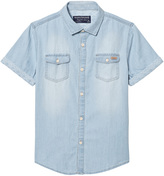Mayoral Blue Light Wash Denim Shirt