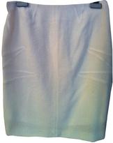 Christian Dior White Tweed Skirt