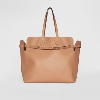Burberry The Large Soft Leather Belt Bag