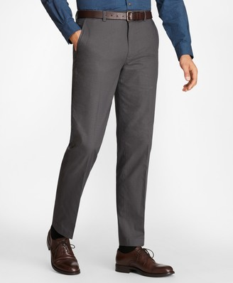 Brooks Brothers Clark Fit Mini-Check Stretch Advantage Chino Pants