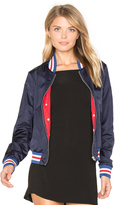 Maison Scotch Special Ribs Bomber Jacket