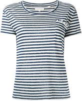 Chinti and Parker striped T-shirt - women - Linen/Flax - M