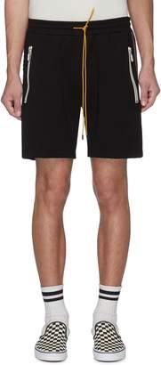 Rhude 'Traxedo' stripe outseam track shorts