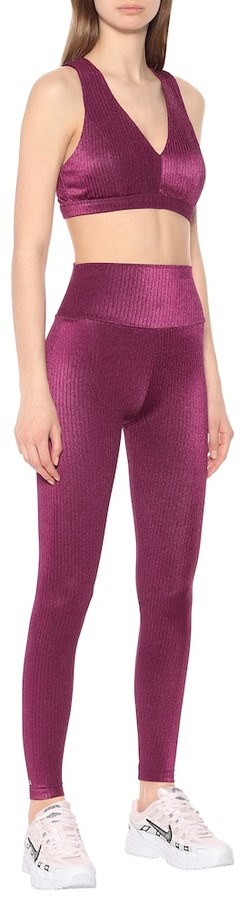 Thumbnail for your product : Lanston Highland high-rise leggings