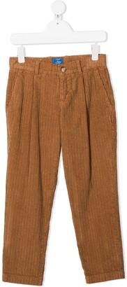 Fay Kids Straight-Leg Corduroy Trousers