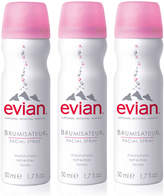 Evian Mineral Water Facial Spray Trio