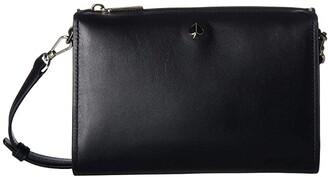Kate Spade Andi Medium Crossbody (Black) Handbags