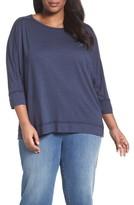 Plus Size Women's Caslon Dolman Sleeve Tee