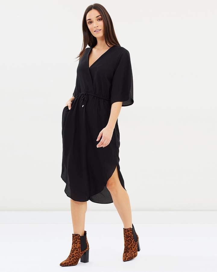DECJUBA Jules Flutter Sleeve Dress