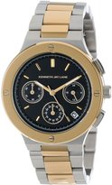 Kenneth Jay Lane Women's KJLANE-2128 Chronograph Dial Two Tone Stainless Steel Watch