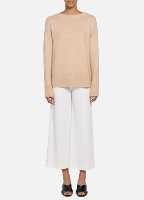 St. John Luxe Cashmere Drop Shoulder Sweater
