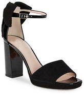 Kate Spade Halle Open-Toe Suede Sandals