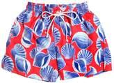 Selini Action Shells Print Swim Shorts