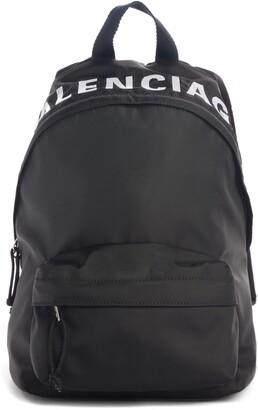 Balenciaga Wheel Canvas Backpack