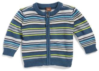 Tea Collection Gavin Stripe Zip Cardigan (Baby & Toddler Boys)