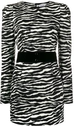 P.A.R.O.S.H. Zebra Cocktail Dress