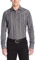 Wrangler Men's Rock 47 Long Sleeve Woven Button Shirt