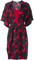 Issa floral print belted dress