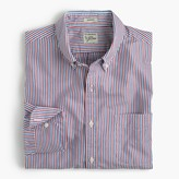J.Crew Slim Secret Wash shirt in pink stripe