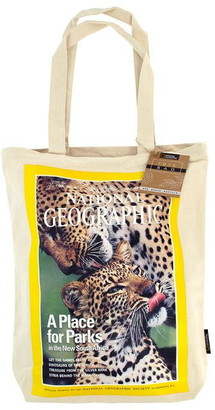 National Geographic Cotton Canvas Tote Bag