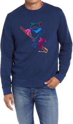 Bonobos Embroidered Frog Crewneck Sweatshirt