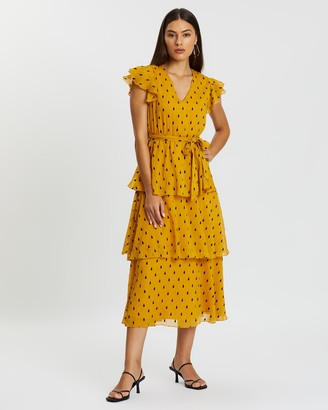 Atmos & Here Joanna Tiered Dress
