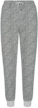 Mint Velvet Grey Leopard Print Joggers
