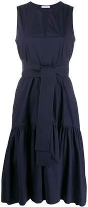 P.A.R.O.S.H. Tied Waist Evening Dress