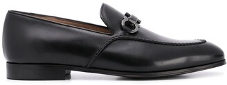 Salvatore Ferragamo Gancini-Horsebit loafers