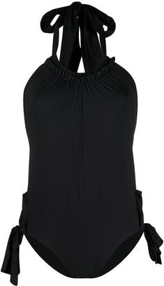 Marysia Swim Side-Tie Detail Swimsuit