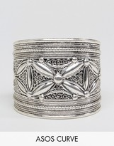 Asos Exclusive Etched Detail Cuff Bracelet