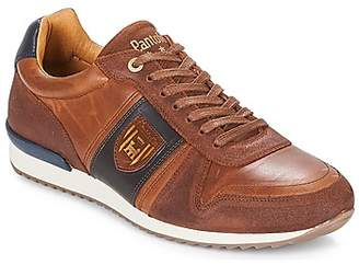 Pantofola D'oro TERAMO UOMO LOW men's Shoes (Trainers) in Brown