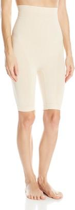 Joan Vass Women's Seamless High Waist Long Leg Slimmer